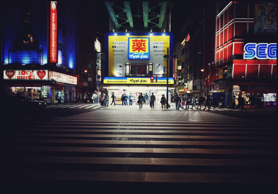 Electric city – Akihabara